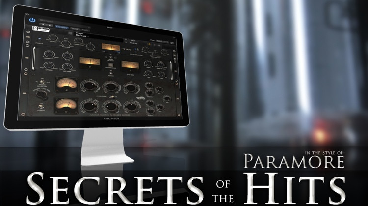 Multi Platinum Secrets of the Hits in the Style of Paramore Interactive Course image 1