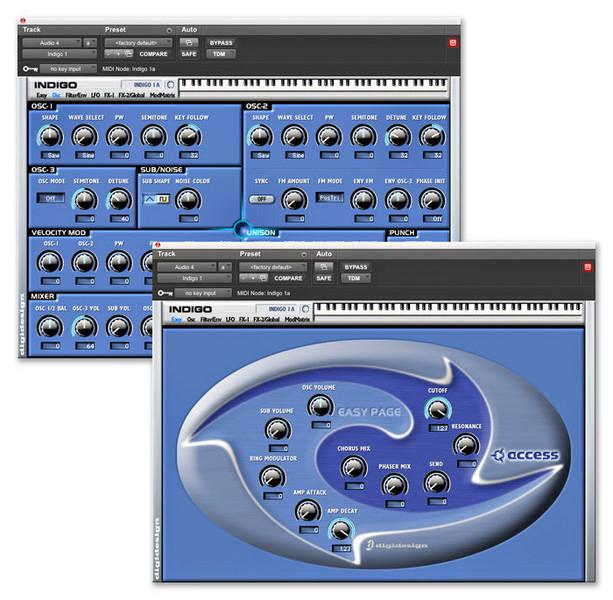 Access Virus Indigo TDM Synthesizer Plug-in image 1