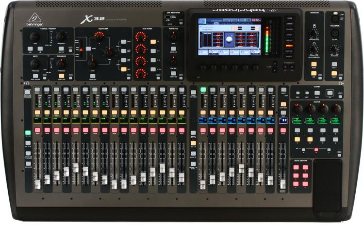 behringer x32 digital mixer sweetwater. Black Bedroom Furniture Sets. Home Design Ideas