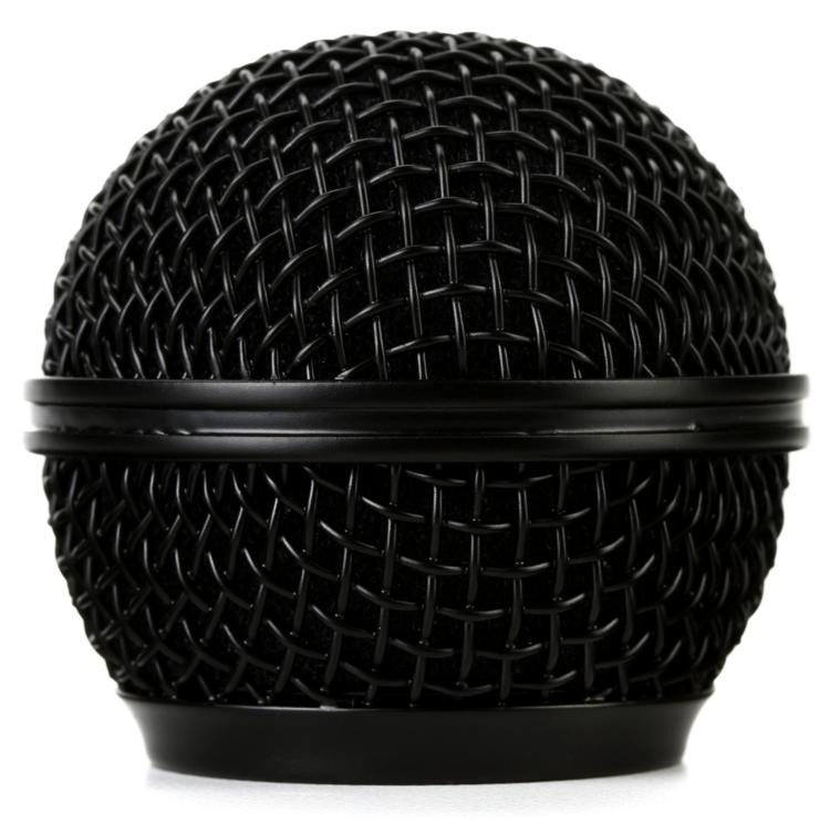 On-Stage Stands Steel Mesh Mic Grille - Black image 1