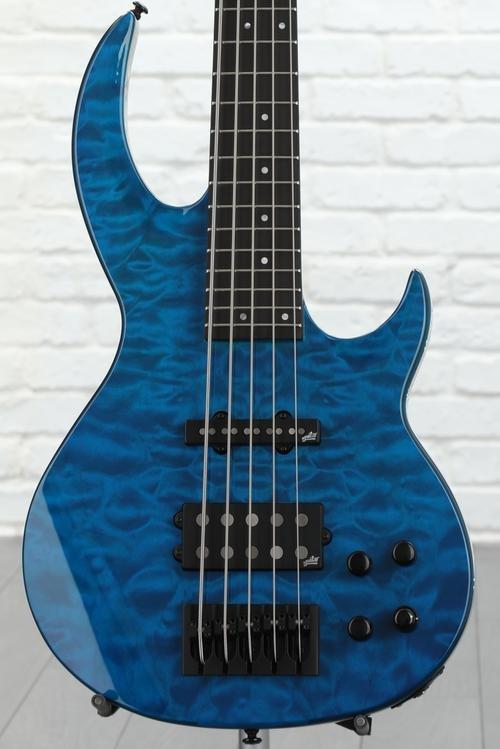 ESP LTD BB-1005 Quilted Maple - Black Aqua