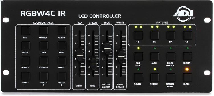 ADJ RGBW4C IR 32-Ch DMX Lighting Controller image 1