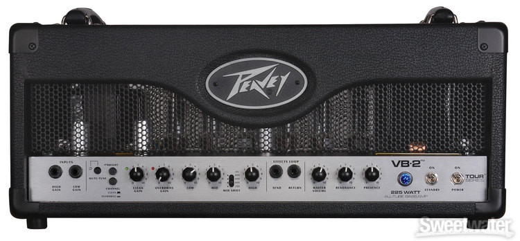 peavey vb 2 tube bass amp head sweetwater. Black Bedroom Furniture Sets. Home Design Ideas