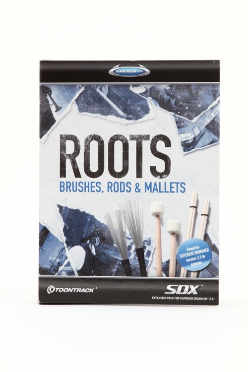 Toontrack Roots SDX - Brushes, Rods, and Mallets (Boxed) image 1