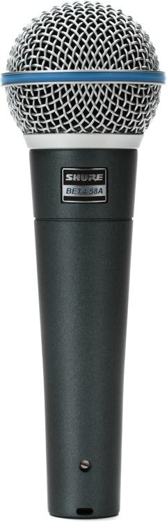 Shure Beta 58A Handheld Dynamic Vocal Microphone image 1