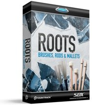 Toontrack Roots SDX - Brushes, Rods, and Mallets (download)