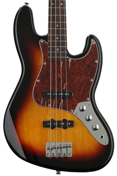Squier Vintage Modified Jazz Bass - 3-Color Sunburst image 1
