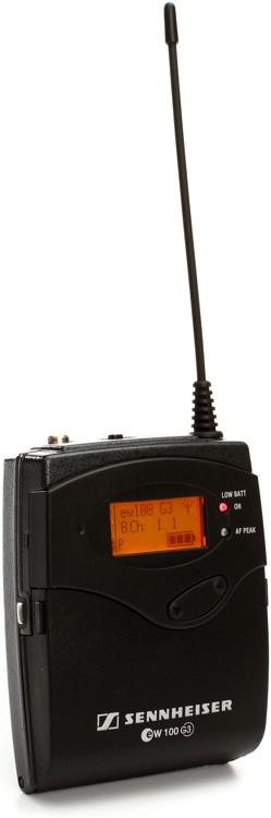 Sennheiser SK 100 G3 - G Band, 566-608 MHz image 1