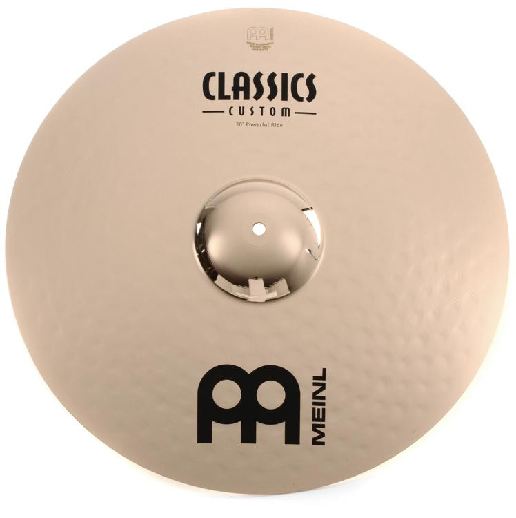 Meinl Cymbals Classics Custom Brilliant Powerful Ride - 20