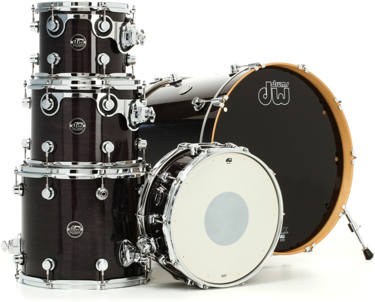 DW Performance Series 5-Piece Pack With Snare Drum - 22