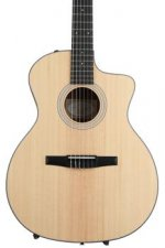 Taylor 114ce-N - Layered Walnut back and sides