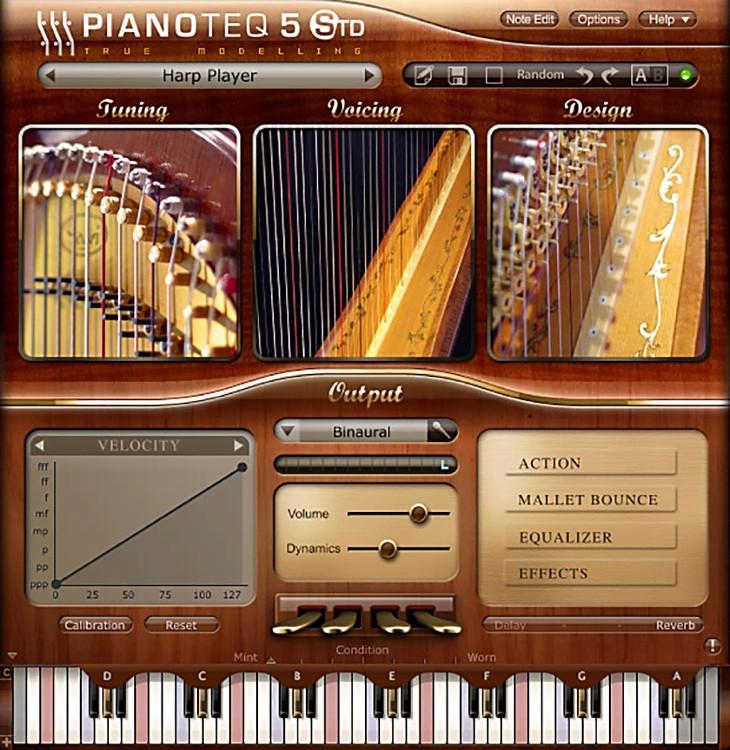 MODARTT Concert Harp (requires Pianoteq) image 1