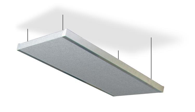 Primacoustic Acoustic Cloud w/Aluminum Frame - Gray image 1