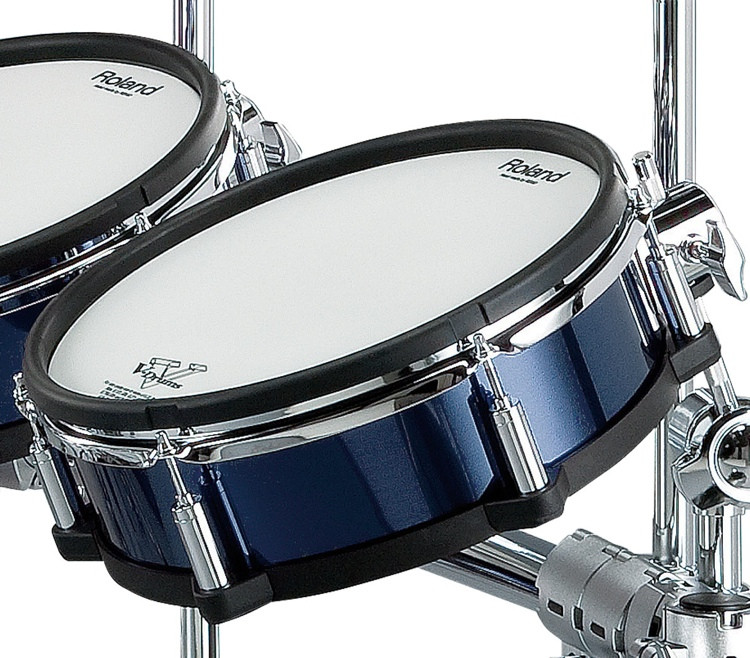 Roland V-Drums Shell Wrap Package - 6-piece - Blue image 1