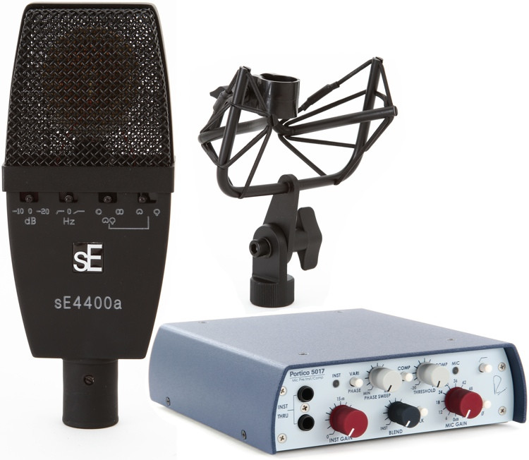 sE Electronics SE4400a with RND 5017 Preamp Package image 1