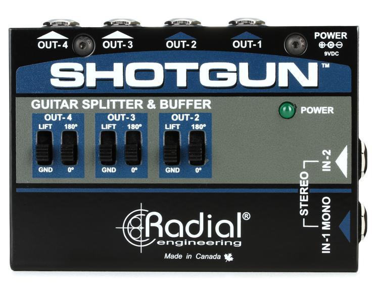 Radial Shotgun 4-channel Amp Driver image 1