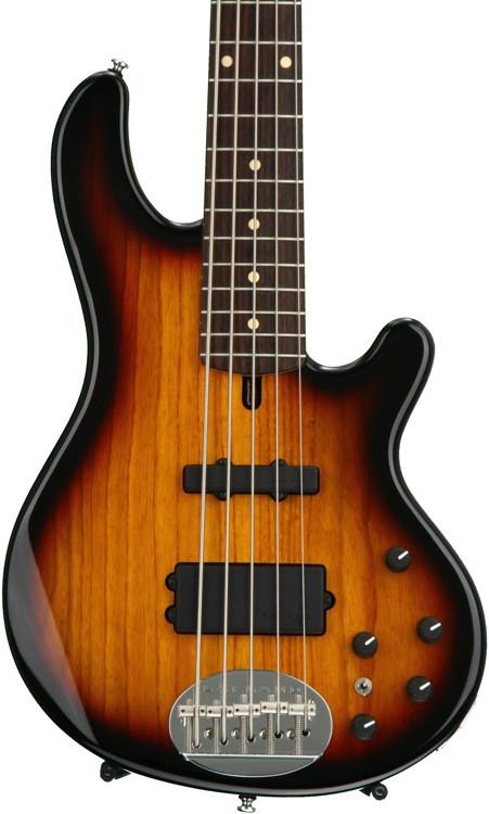 Lakland Skyline 55-02 Standard - 3-Tone Sunburst, Rosewood Fingerboard image 1