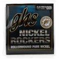 GHS R+RXL Nickel Rockers Pure Nickel Extra Light Electric Guitar Strings