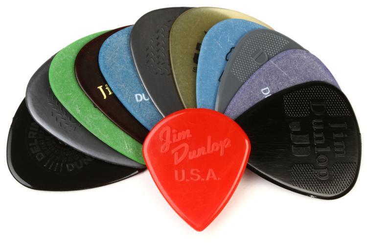 Dunlop PVP102 Pick Variety Pack - Medium/Heavy image 1