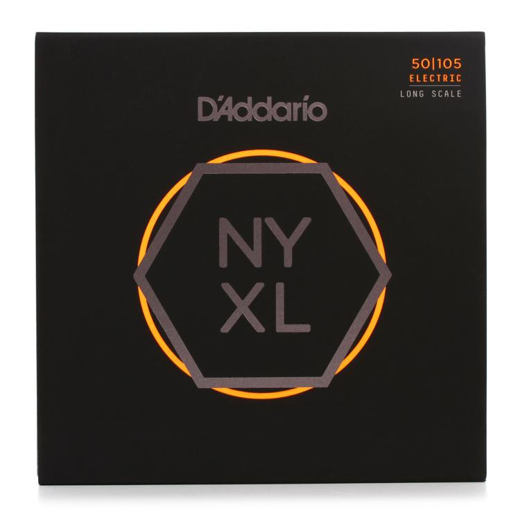 D\'Addario NYXL50105 Nickel Wound Bass Strings .050-.105 Medium image 1