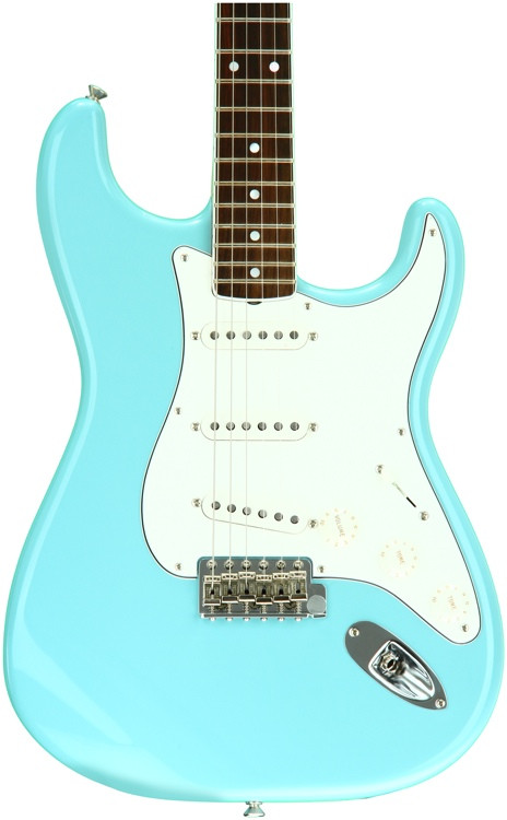 Fender Eric Johnson Stratocaster - Tropical Turquoise with Rosewood Fingerboard image 1