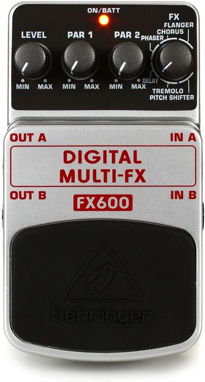 Behringer FX600 Digital Multi-FX Pedal image 1