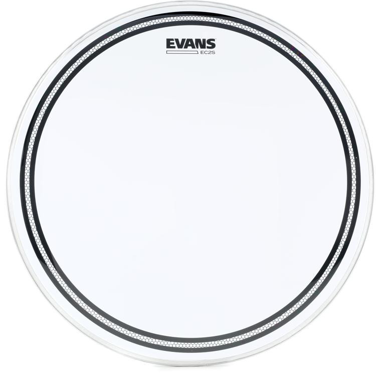 evans ec2 drumhead 18 clear sweetwater. Black Bedroom Furniture Sets. Home Design Ideas