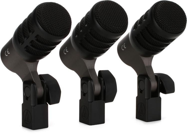 Audio-Technica ATM230PK Drum Microphone 3-Pack image 1