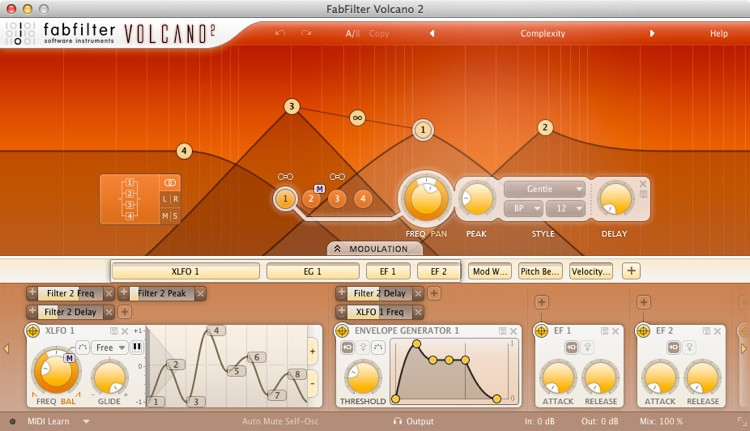 FabFilter Volcano 2 Plug-in image 1