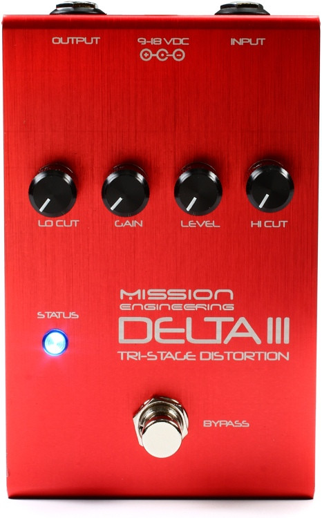Mission Engineering Inc Delta III Tri-stage Distortion Pedal with EQ image 1