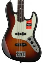Fender American Professional Jazz Bass - 3-color Sunburst with Rosewood Fingerboard