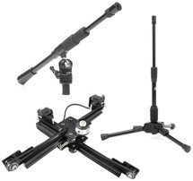 DynaMount X1 + Triad-Orbit T1 Package - Mic Positioner, Mic Stand, and Boom