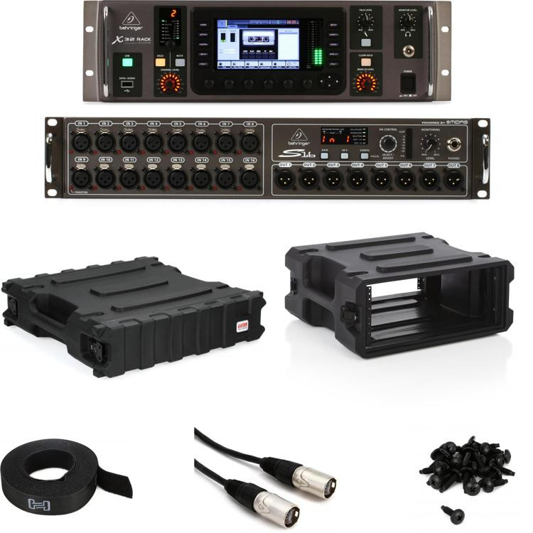 Behringer X32 Rack Pack with S16 Stage Box image 1