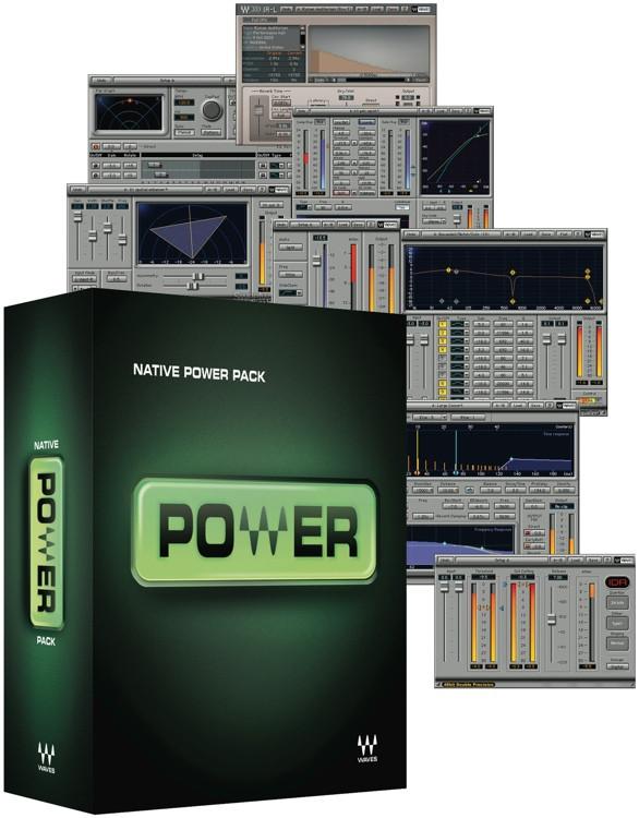 Waves Power Pack Plug-in Bundle - Academic Version image 1