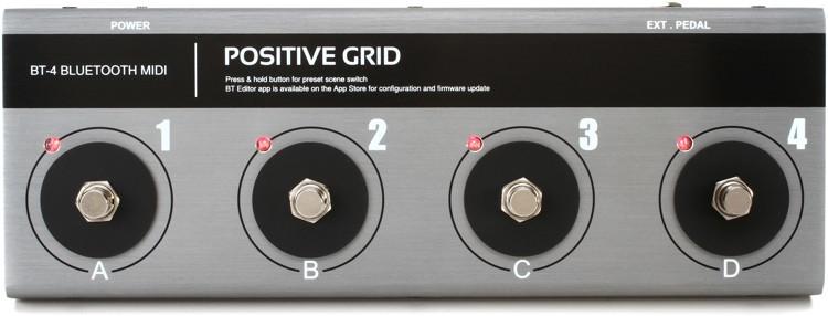 Positive Grid BT4 Bluetooth MIDI Pedalboard image 1