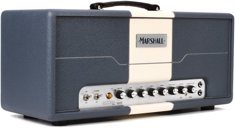 Marshall Astoria Dual 30-watt 2-channel Handwired Tube Head image 1