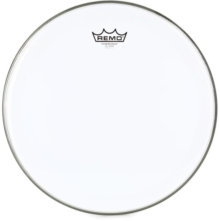 Remo Powerstroke 4 Clear Drum Head - 15