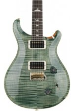 PRS Custom 22 10-Top - Trampas Green with Pattern Neck