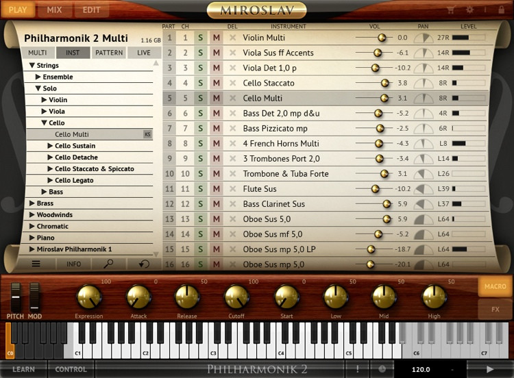IK Multimedia Miroslav Philharmonik 2 CE Orchestral Software Instrument (download) image 1