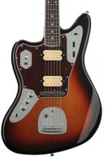Fender Kurt Cobain Jaguar Left-handed - 3-tone Sunburst with Rosewood Fingerboard