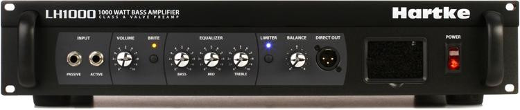 Hartke LH1000 1000-Watt Bass Head image 1