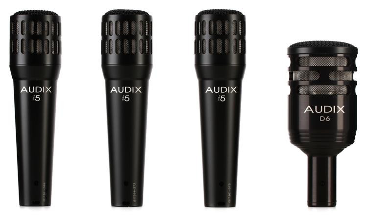 Audix DP4 Microphone Pack image 1
