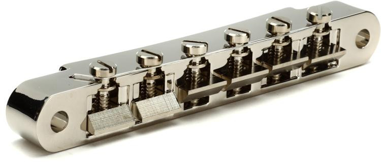 ABR-1 Tune-O-Matic Bridge w/Full Assembly - Nickel