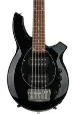 Ernie Ball Music Man Bongo 5 HH - Gloss Black