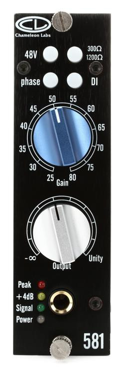Chameleon Labs 581 Microphone Preamp image 1