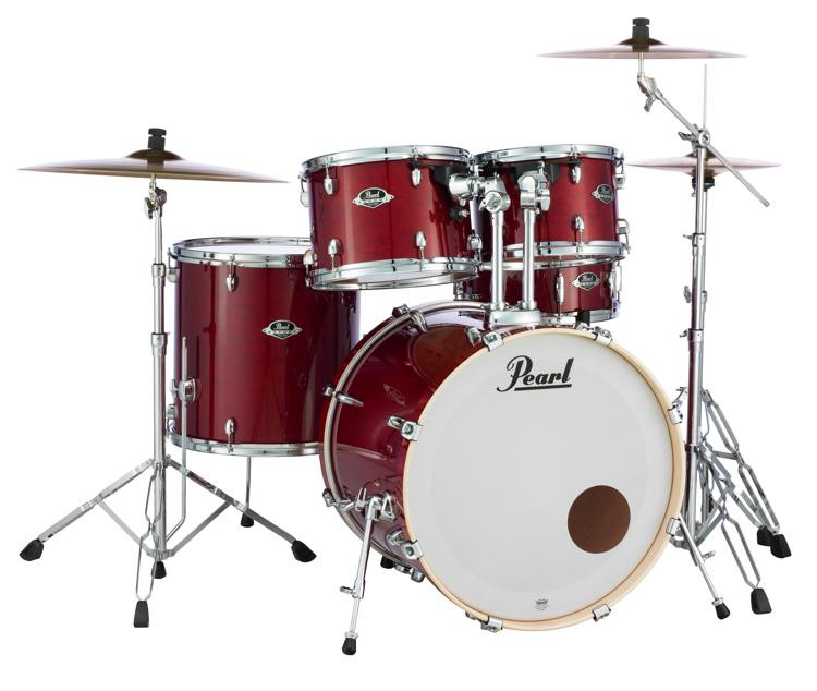 Pearl Export EXL 5-piece Drum Set with Hardware - Natural Cherry image 1
