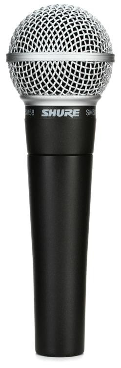 Shure SM58 Handheld Dynamic Vocal Microphone image 1