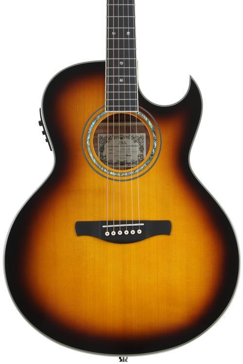 Ibanez JSA5 Joe Satriani - Vintage Burst image 1