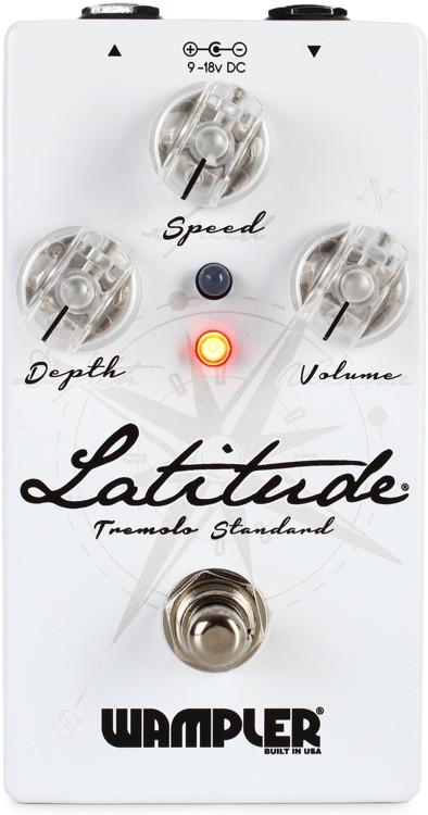Wampler Latitude Tremolo Pedal image 1