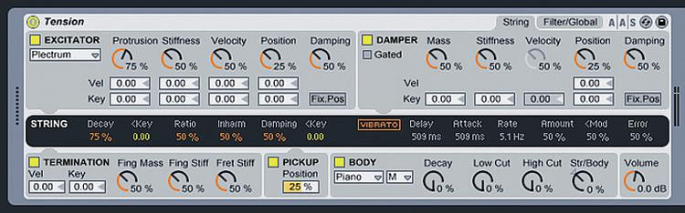 Ableton Tension - Software Instrument for Live image 1